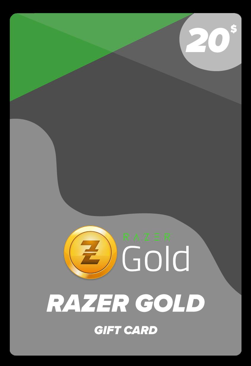 ريزر جولد عالمي 20$